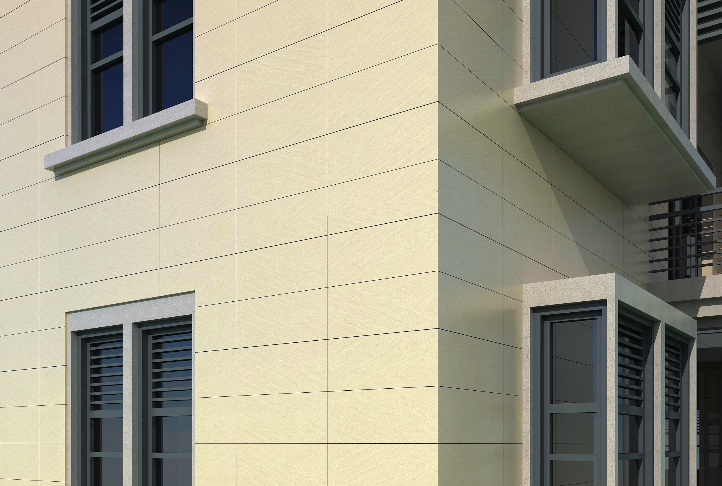 通體薄板外墻磚如何干掛施工,施工需要注意哪些?